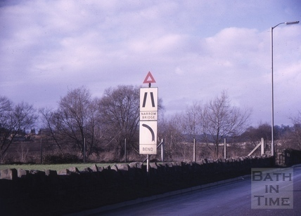 Road signs, Newbridge Road, Bath 1964