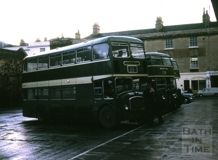 Bath Bus Station 1964