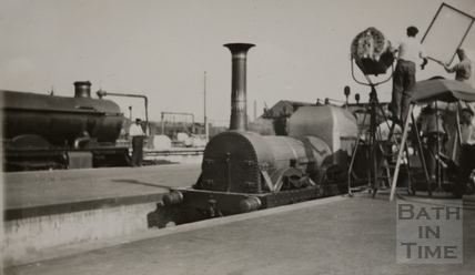 Filming the Titfield Thunderbolt, Bristol Temple Meads 1952