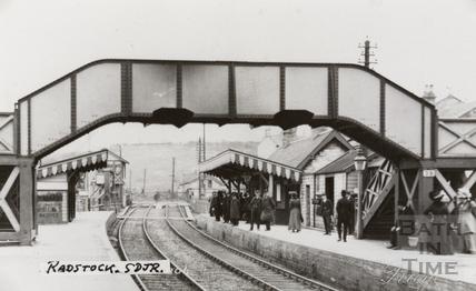 Radstock Station c.1910