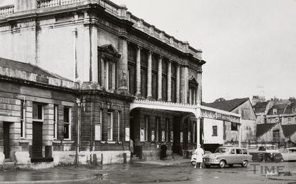 Green Park Station, Bath 1960s