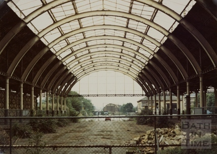 Green Park Station, Bath 1970s