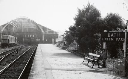 Green Park Station, Bath 1960s