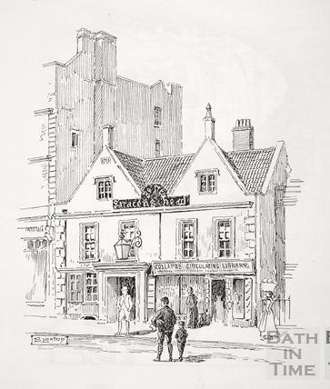 The Saracen's Head, 42, Broad Street, Bath c.1890-1920