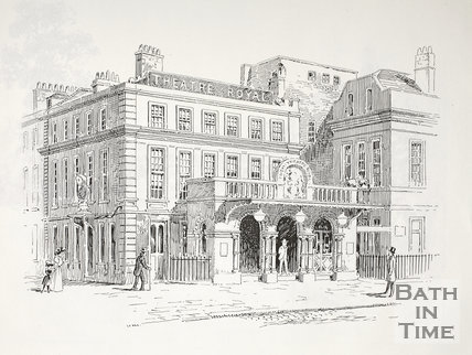 Theatre Royal, Sawclose, Bath c.1890-1920