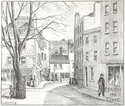 Abbey Green, Bath c.1890-1920