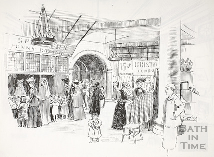 In the Market, Bath c.1890-1920
