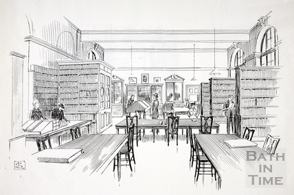 The Reference Library, Bath c.1890-1920