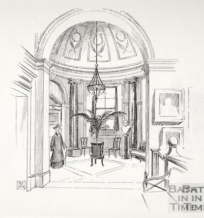 The Vestibule, Victoria Art Gallery, Bath c.1890-1920