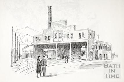 The Tram Depot, Walcot Street, Bath c.1890-1920