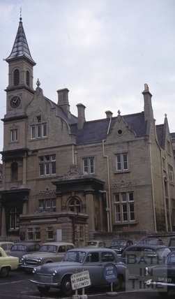 Blue Coat School, Sawclose, Bath 1965