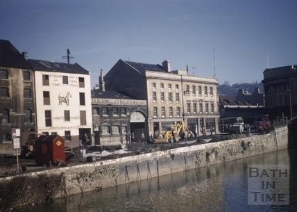 Broad Quay, Bath 1961
