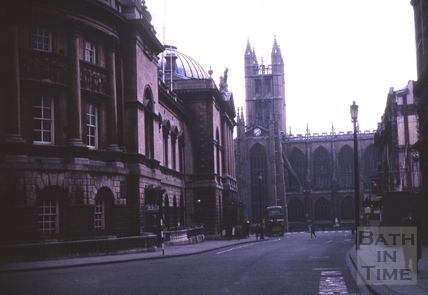 Bath Abbey and High Street, Bath 1964
