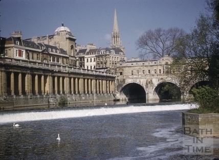Pulteney Bridge, Bath 1960