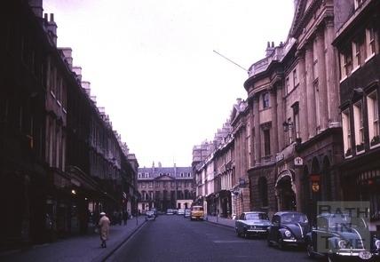 Milsom Street, Bath 1964
