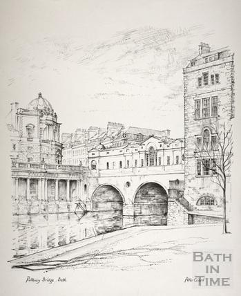 Pulteney Bridge, Bath c.1978