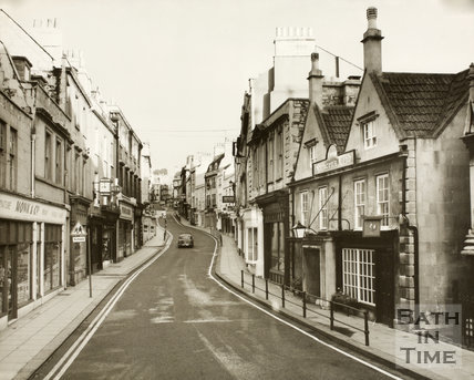 Broad Street, Bath late 1960s