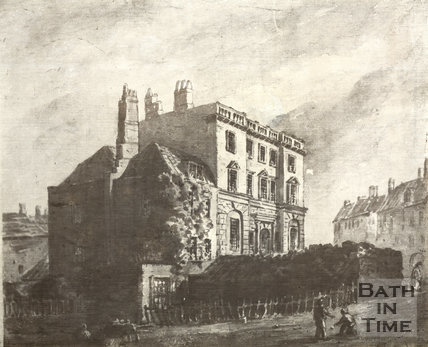 Bath Prison, Grove Street, Bath c.1780