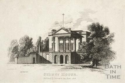 Sydney House, Bath 1818