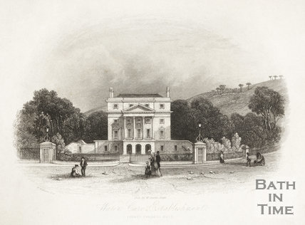 Water Cure Establishment, Sydney Gardens, Bath c.1846