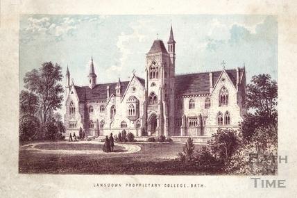 Lansdown Proprietary College, Lansdown, Bath c.1860
