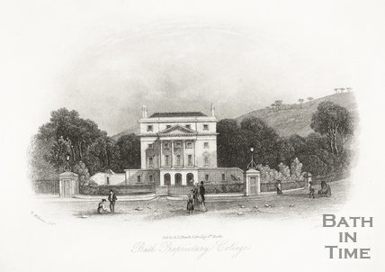 Bath Proprietary College, Bath c.1886