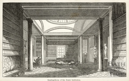 Reading Room of the Bath Royal Literary and Scientific Institution, North Parade, Bath