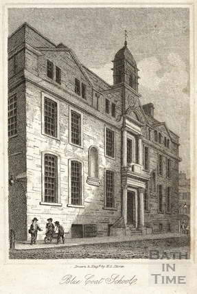 Blue Coat School, Bath 1819