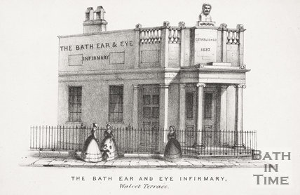 The Bath Ear and Eye Infirmary, Walcot Terrace, London Road, Bath c.1840?