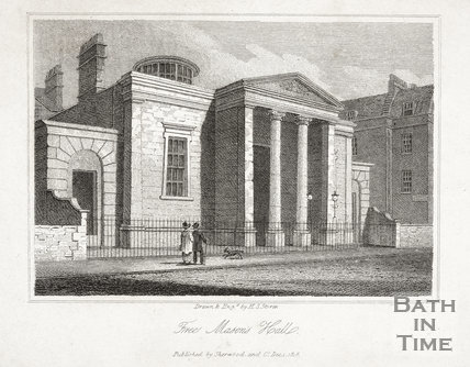 Free Masons Hall, York Street, Bath 1818
