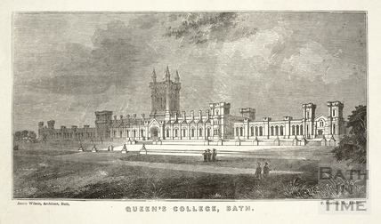 Queen's College, Bath - Auxiliary to the Universities of Oxford and Cambridge 1839