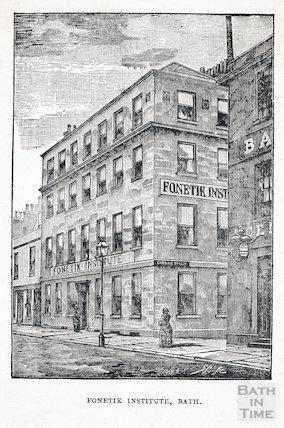 Fonetick Institute, 6 & 7, Kingston Buildings, Bath c.1875?