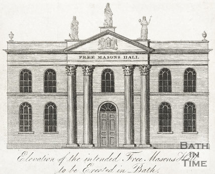 Elevation of the intended Free Masons Hall to be Erected in Bath c.1776?