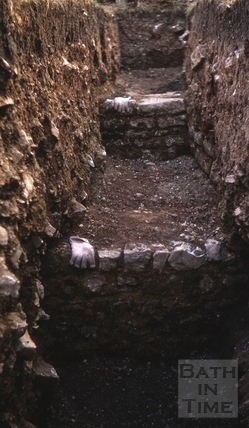 Remains of Roman Villa, near Newton Turnpike, Bath 1968