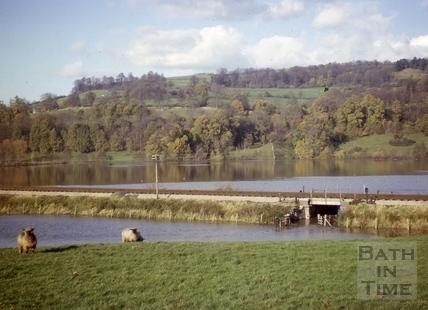 Floods, Newton Meadows, Bath 1963