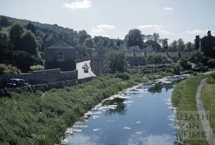 The Kennet and Avon Canal, Bathampton c.1965