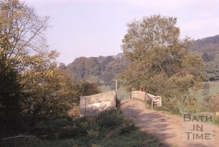 Accommodation bridge over the Kennet and Avon Canal near Claverton c.1965