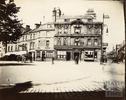 Kingsmead Square, Bath c.1985-1902