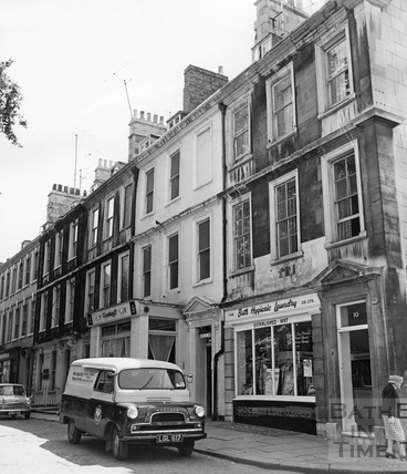 South side, Kingsmead Square, Bath c.1965