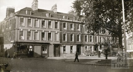 South side, Kingsmead Square, Bath 1939