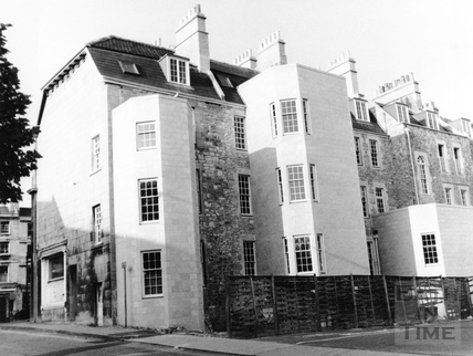 Rear of Kingsmead Square, Bath 1975