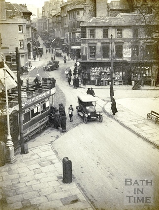 Kingsmead Square and Westgate Place, Bath c.1925