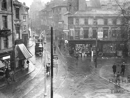 Kingsmead Square, Bath c.1925