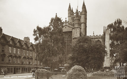 Orange Grove, Bath c.1930