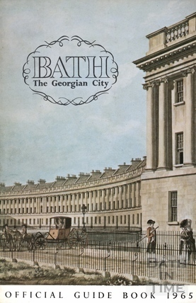 Bath Official Guide Book 1966