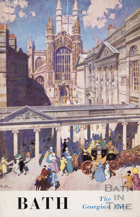 Bath Official Guide Book 1954