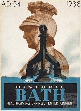 Bath Official Guide Book 1938