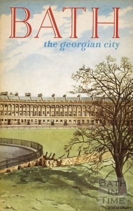 Bath Official Guide Book 1957