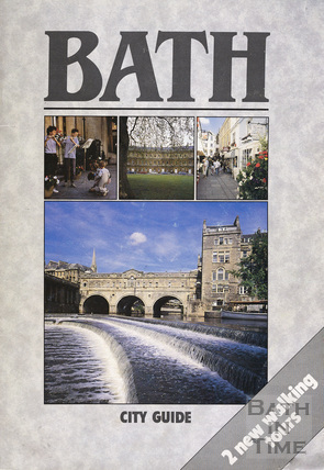 Bath Official Guide Book 1989