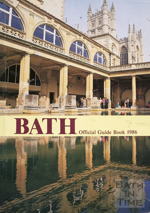 Bath Official Guide Book 1986